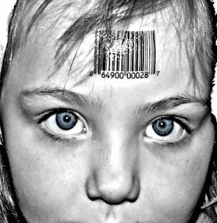 codice a barre sulla fronte