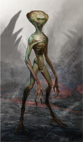 alieno molto alto