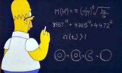 homer simpson bosone di higgs