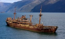 Nave fantasma riappare dopo 90 anni
