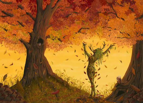 Comunione con un albero