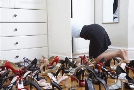 La mania delle scarpe