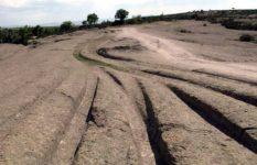 Turchia: strani solchi in rocce di 14 milioni di anni