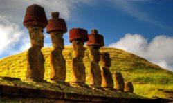I Moai giganti dell'Isola di Pasqua