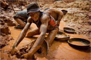 coltan, lavoro in miniera