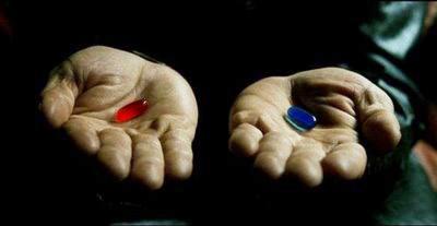 Matrix -pillola rossa, pillola blu