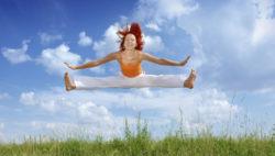 Salto di felicità