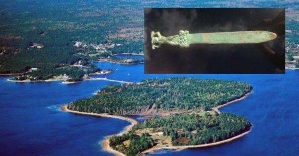 La spada Romana dell'Isola di Oak - Canada
