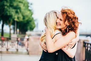 Abbraccio spontaneo