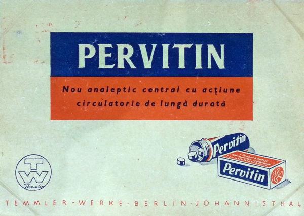 Il Pervitin, usato dai soldati nazisti.