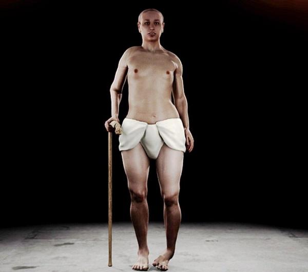 Il nuovo profilo di Tutankhamon, disegnato dall'autopsia virtuale.