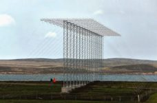 Antenne HAARP a Prado GOOSE, isole Falkland