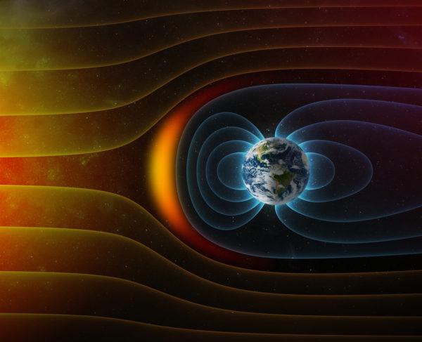 scudo magnetico terrestre