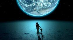 Solitudine sulla luna