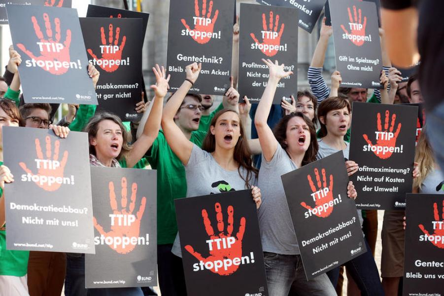 TTIP: proteste in Germania