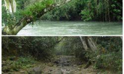 fiume scomparso in messico