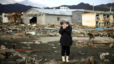 Desolazione a Fukushima dopo il disastro