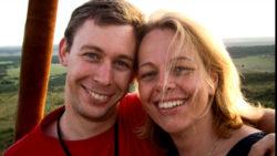 Martin Pistorius e sua moglie Joanna.