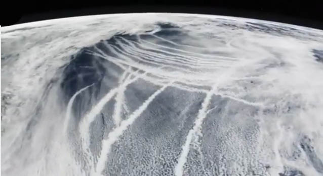 Chemtrails Satellitensicht