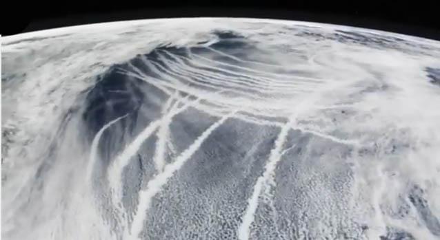 Chemtrails visione satellitare