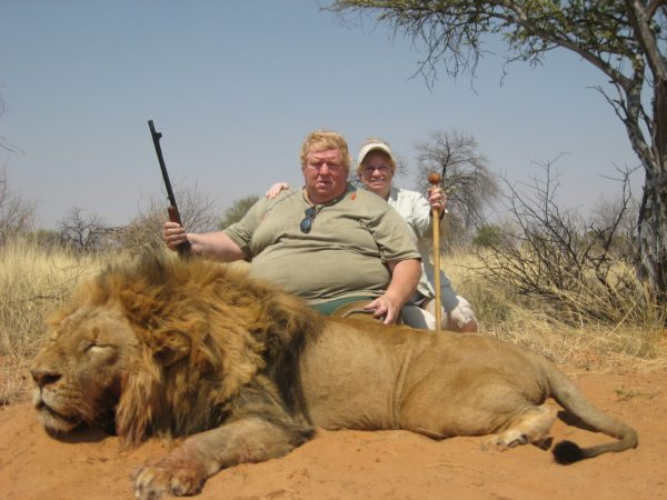 canned hunting