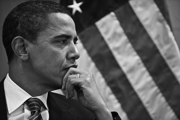 Il presidente degli Stati Uniti d'America, Barak Obama