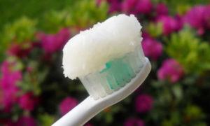 Olio di cocco per lavarsi i dent