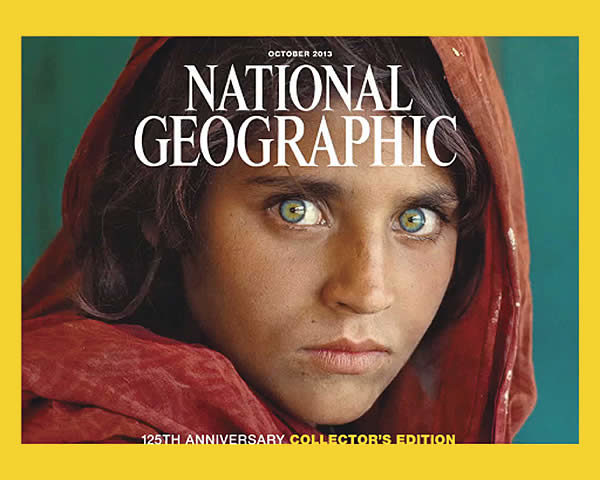 National Geographic ragazza afghana