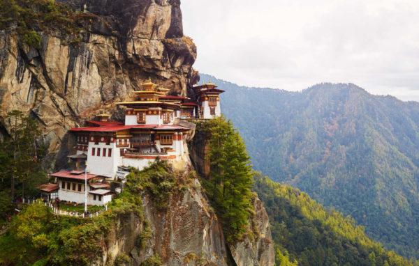 buthan - monastero