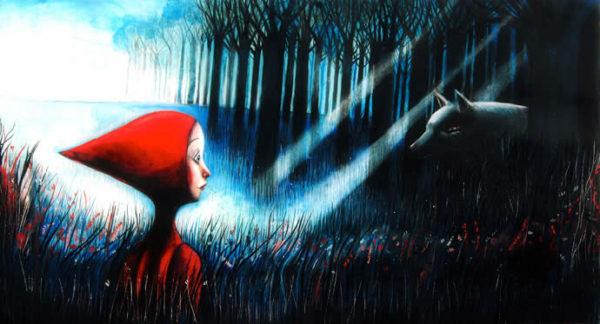 """<em>di Salvatore Brizzi</em> <b>Si narra nella famosa favola dei fratelli Grimm, che un giorno la mamma di Cappuccetto Rosso le diede un pezzo di focaccia e una bottiglia di vino da portare alla nonna, che abitava nel bosco: """"<em>Va' da brava, senza uscire di strada, sennò cadi...""""</em>è la sua raccomandazione.</b> Cappuccetto Rosso parte ed entra nel bosco, qui incontra un lupo """"ma non sapeva fosse una bestia tanto cattiva e non ne ebbe paura"""".Basterebbero già questi elementi per giustificare un'interpretazione esoterica di questa favola oramai facente parte dell'immaginario collettivo. La"""