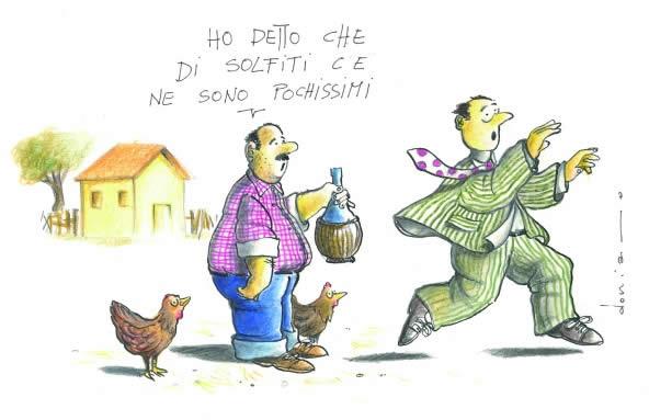 Problema solfiti nei vini
