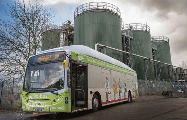 autobus bio bus escrementi umani