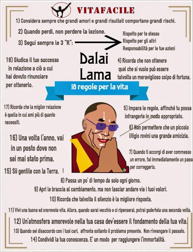 Dalai Lama: 18 regole per vivere