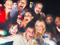 Problema dell'alcool tra i giovani