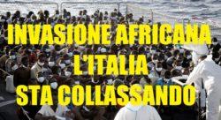 Sindacati polizia: una marea umana di migranti sull'Italia... il paese sta collassando!