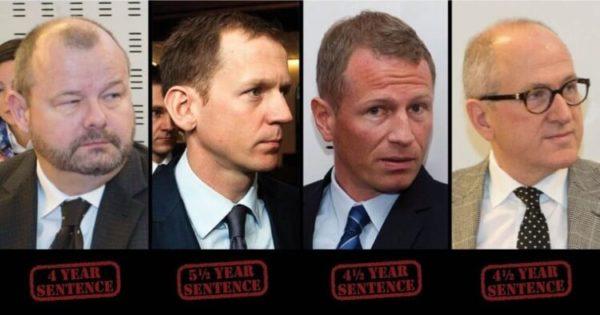 I banchieri corrotti islandesi condannati
