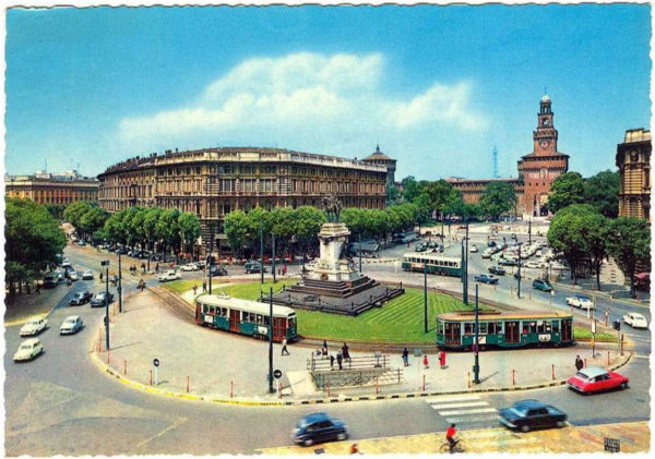 Milano anni 60 - Largo Cairoli