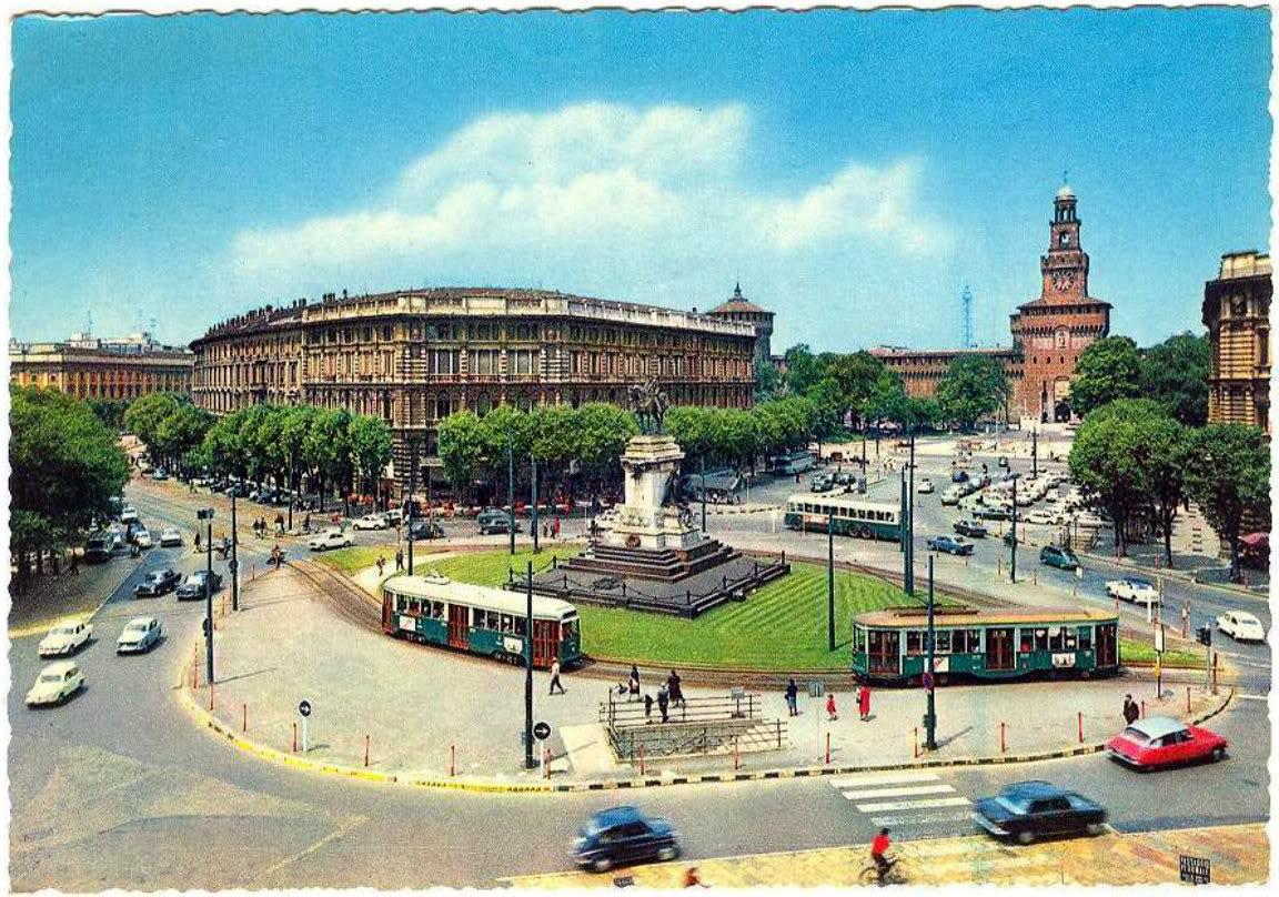 Milanno anni 60 - Largo Cairoli