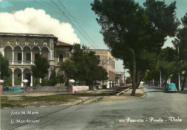 Pescara anni 70 - Pineta - Viale