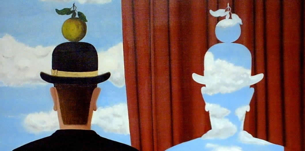 Réne Magritte - Decalcomania