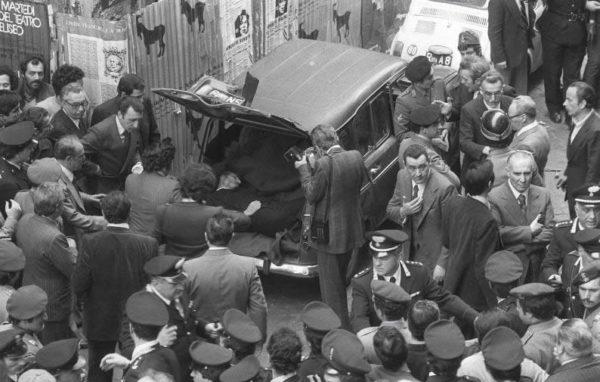 Ritrovamento corpo di Aldo Moro