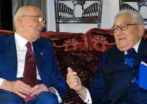 Kissinger e Napolitano al Quirinale
