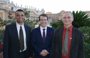 Three amigos in Rome