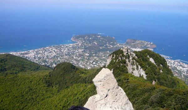 Veduta dal Monte Epomeo