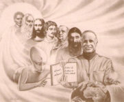 Eugenio Siragusa in una raffigurazione