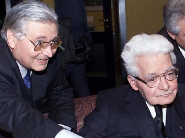 Giuseppe Di Bella insieme al Padre Luigi Di Bella