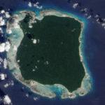 Isola di North Sentinel, situata nel Golfo del Bengala