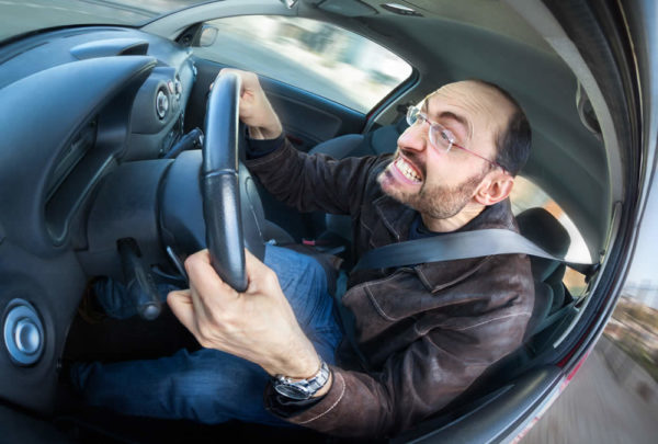 Automobilisti stressati