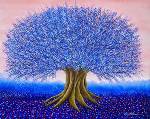 Albero blu