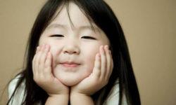 Bambina Giapponese